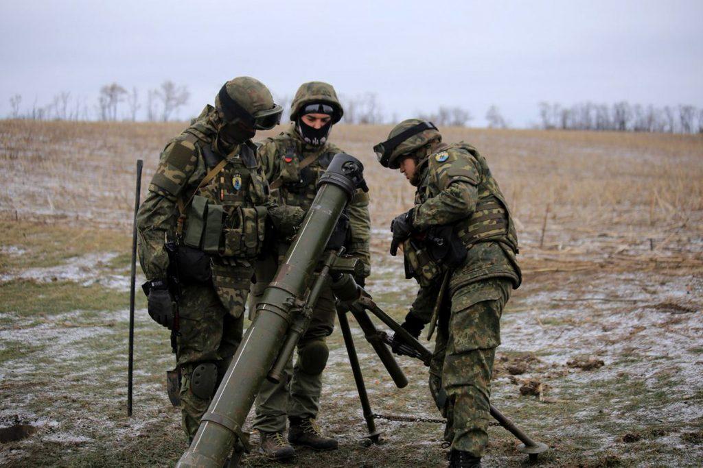 Боевики ВСУ выпустили по ДНР около сотни боеприпасов