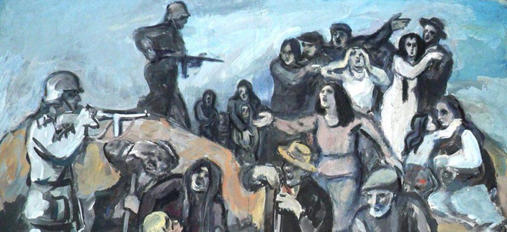 Загреб принимает выставку Меера Аксельрода об оккупации нацистов