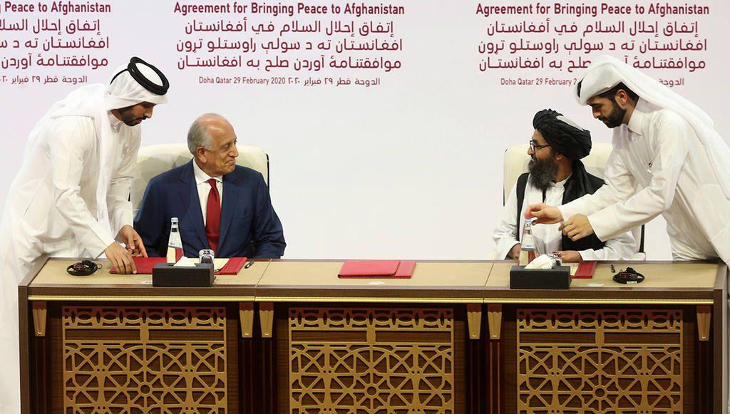 США и Талибан подписали мирное соглашение