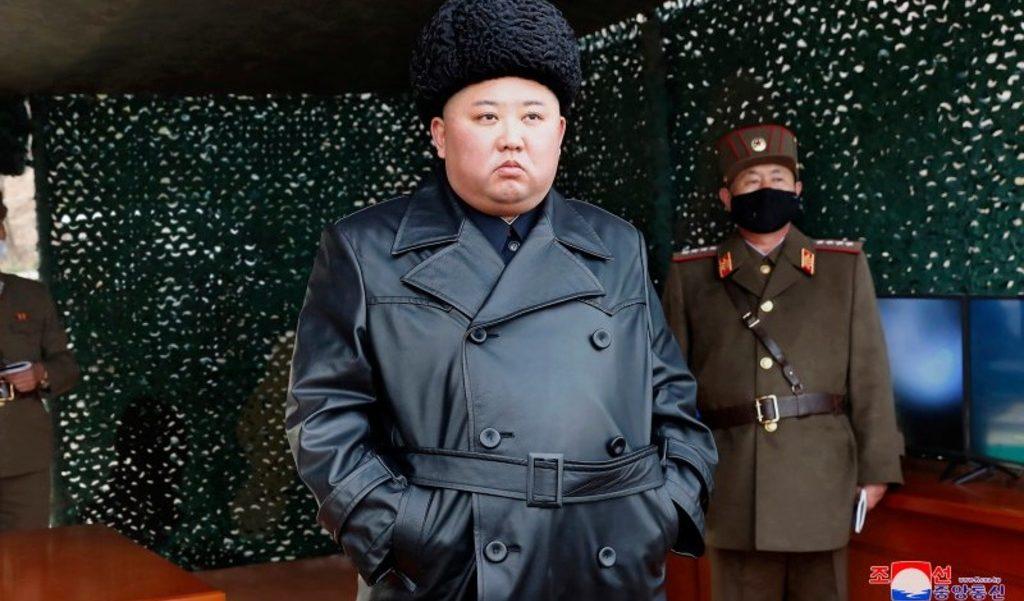 Ким Чен Ын инспектирует армию 2 марта 2020 года