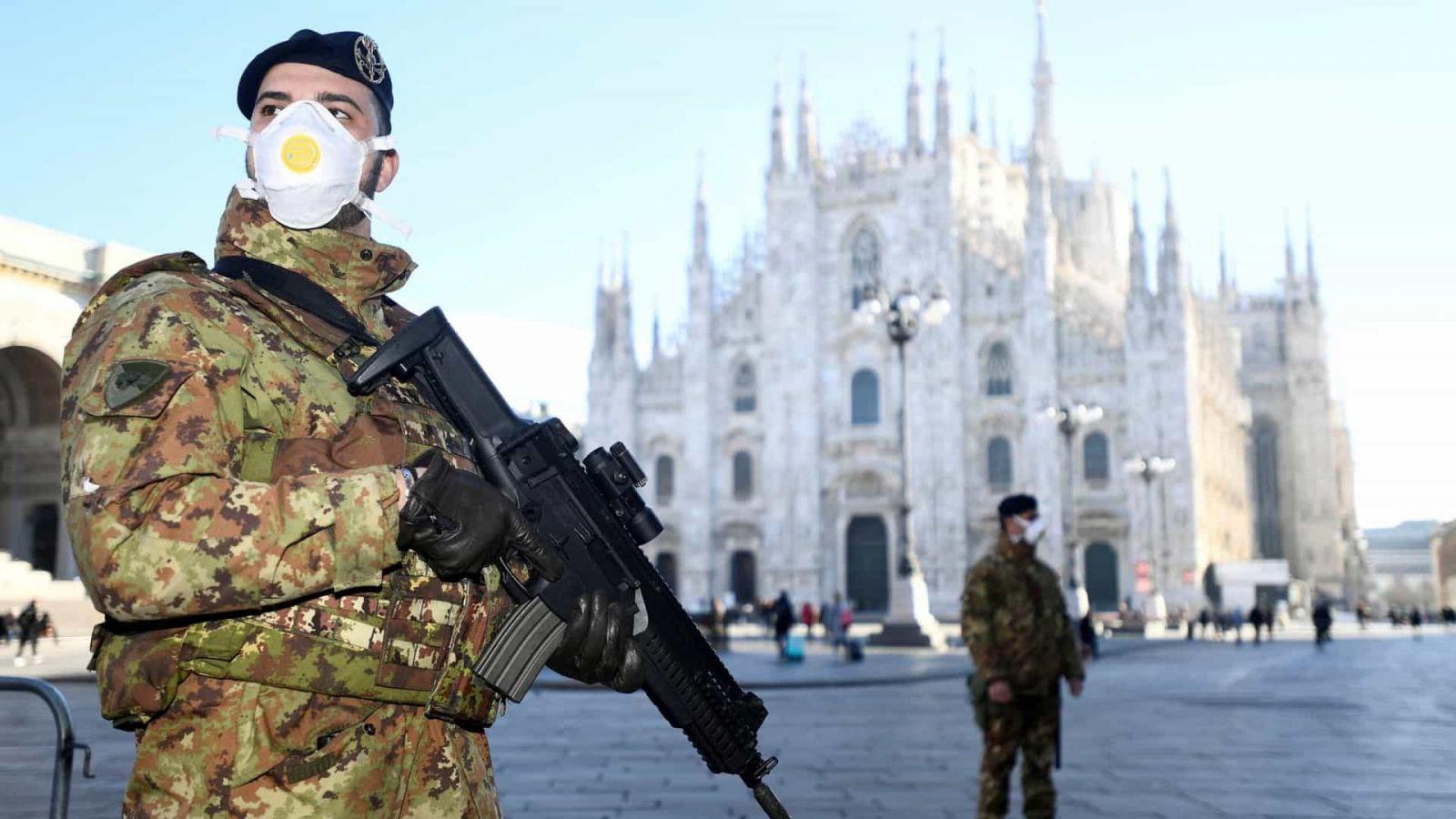 коронавирус в Италии, карантин