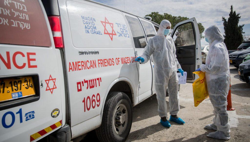 Израиль борется с коонавирусом