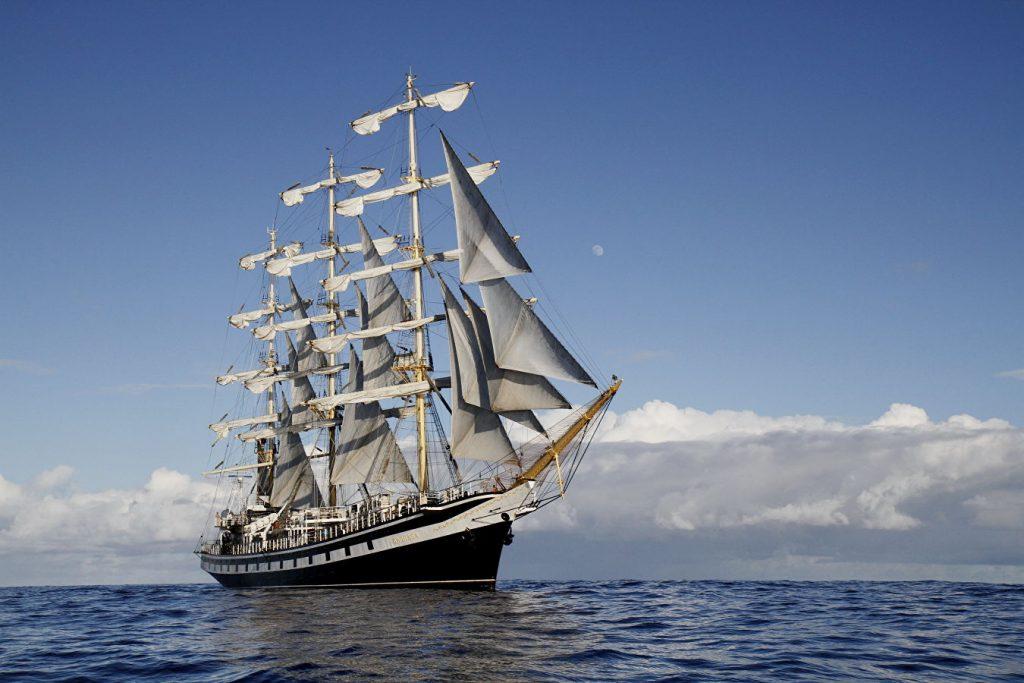 Русские парусники «Седов» и «Паллада» вновь достигли мыса Доброй Надежды