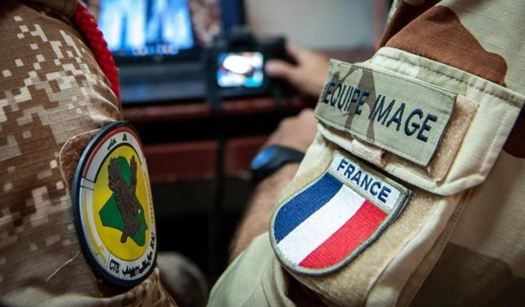военные Франции в Ираке
