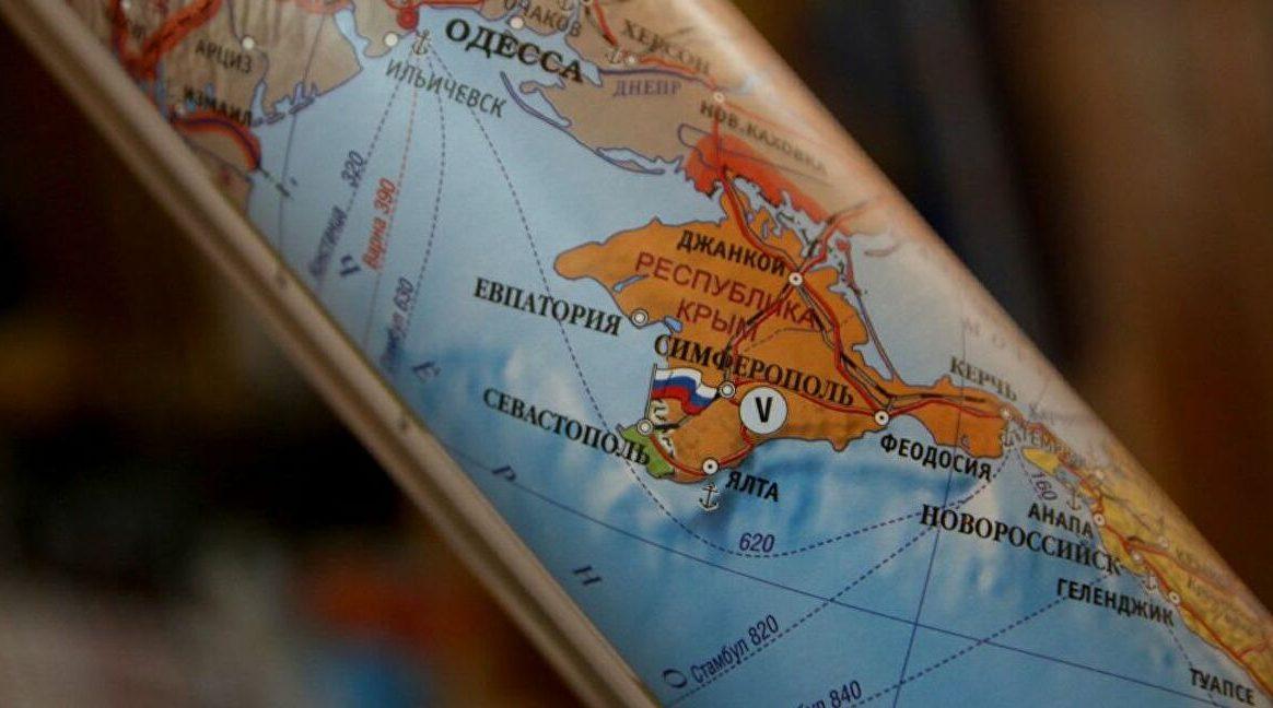 Крым карта России