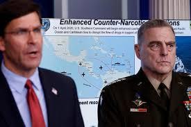 """США начинают военную """"антинаркотическую операцию"""" возле Венесуэлы"""