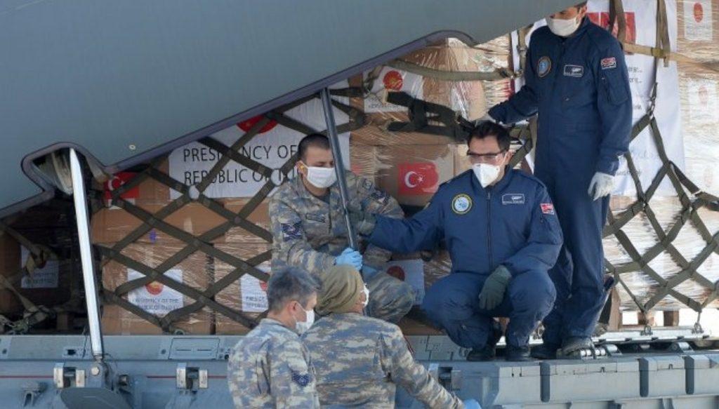Турция отправляет медпомощь Сербии для борьбы с коронавирусом