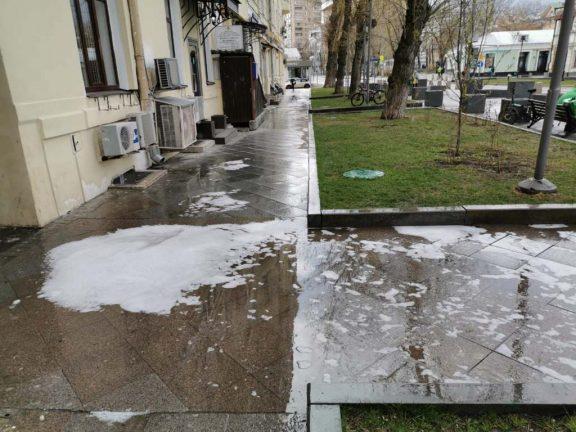 санобработка общественных мест и улиц