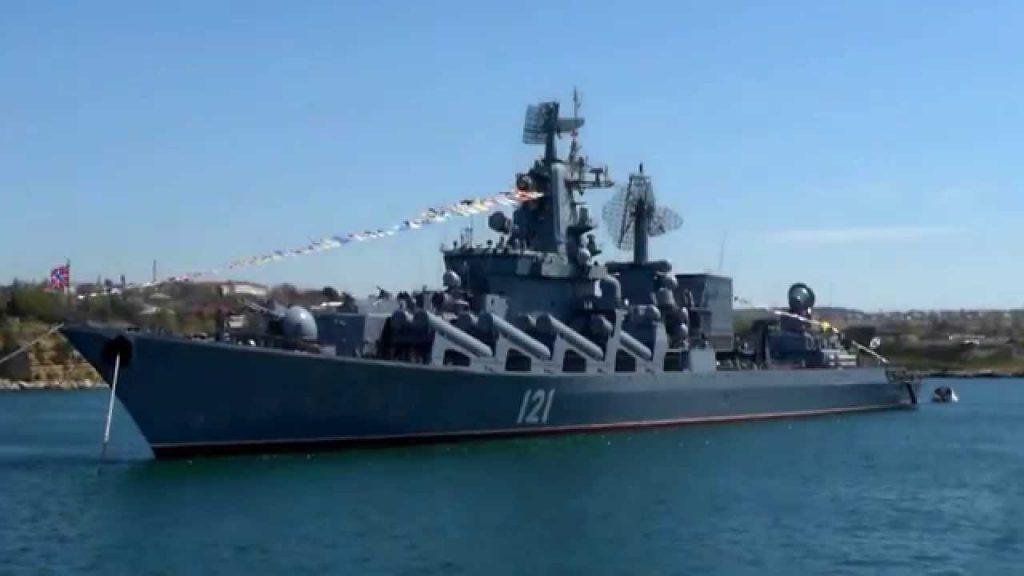 К побережью Сирии готовится отправиться флагманский ракетный крейсер «Москва»