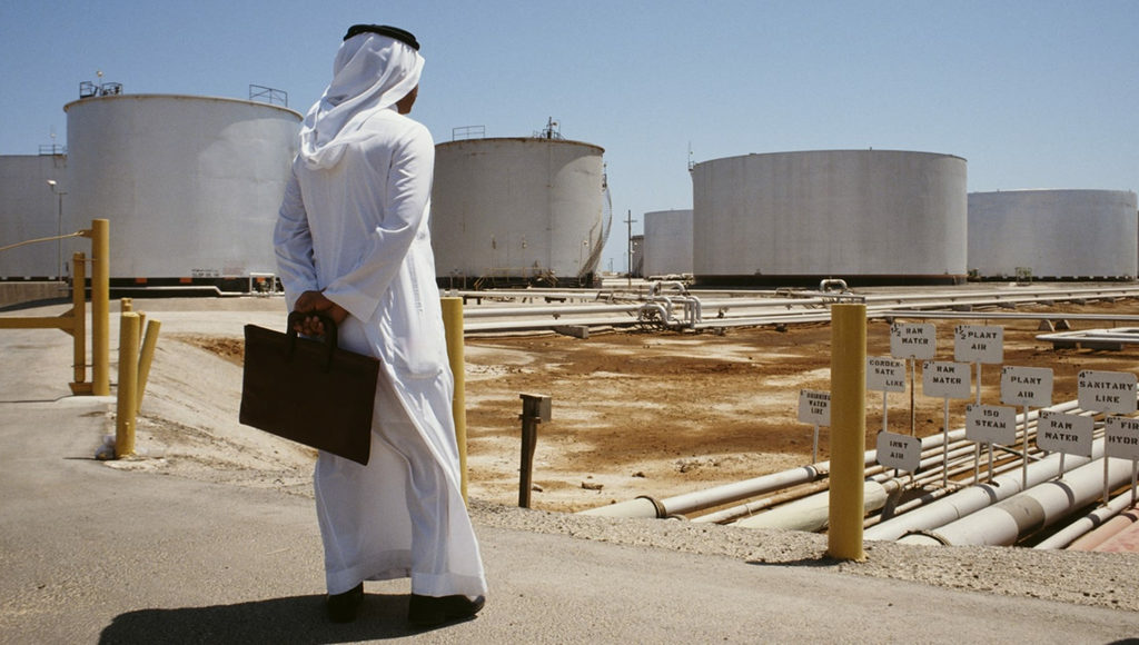 саудовские нефтехранилища