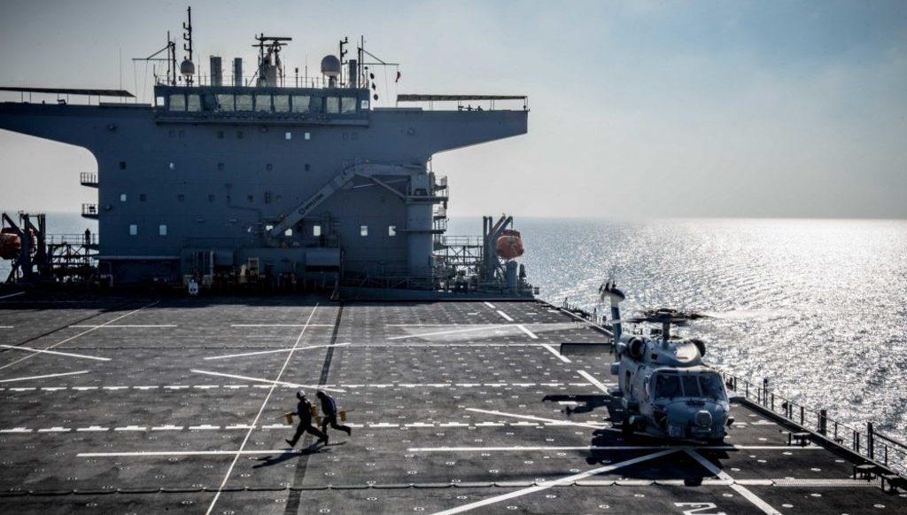 """экспедиционное мобильное базовое судно ВМС США """"Льюис Б. Пуллер"""""""