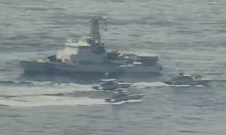 катера КСИР Ирана приблизились к кораблю ВМС США