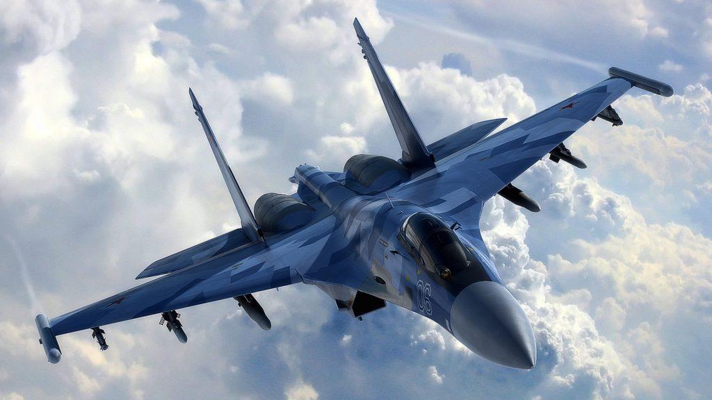 Успешные манёвры совершили над Балтикой самолёты ВКС России
