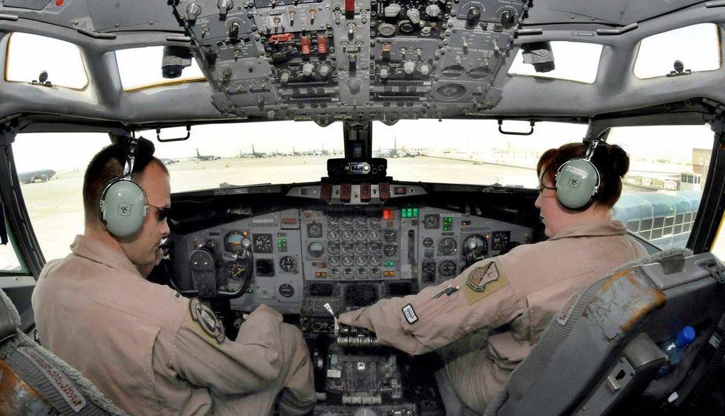 самолёт боевого управления и целеуказания E-8C Joint STARS