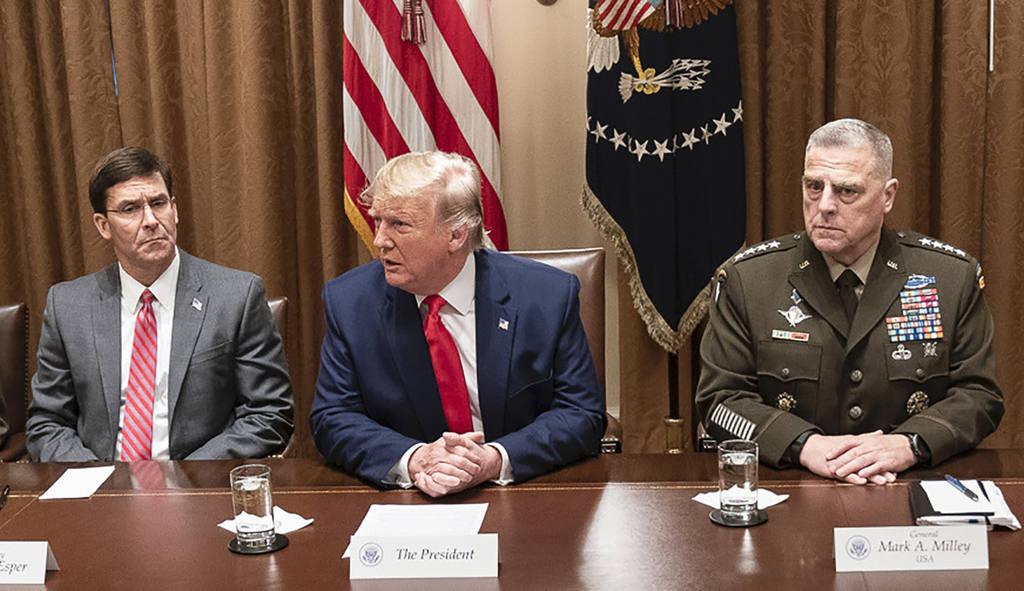 Трамп в Пентагоне