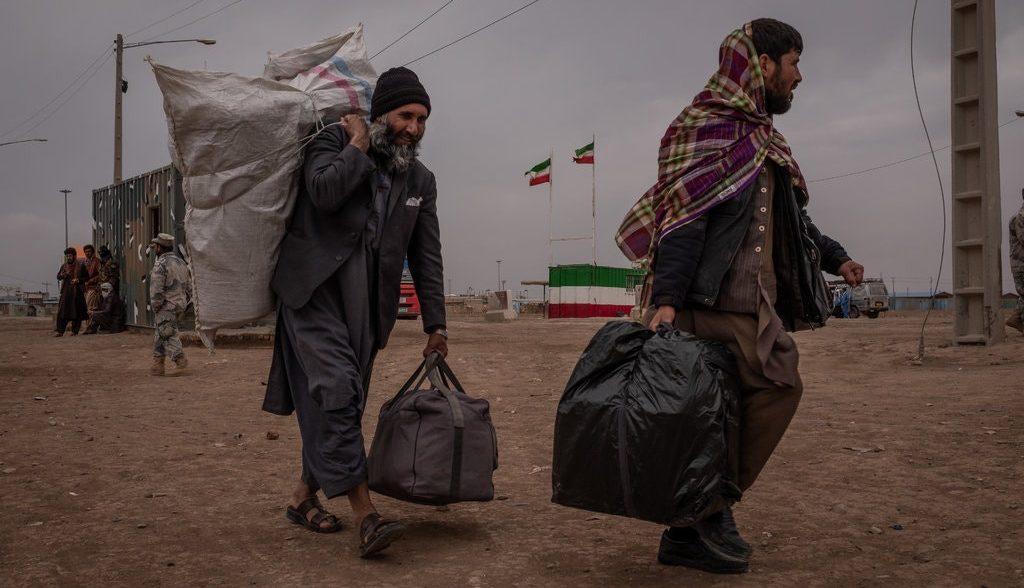 афганские беженцы в Иране