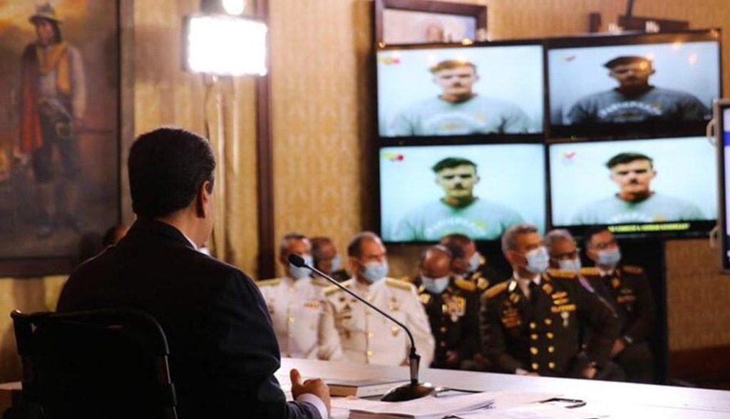 Мадуро о захваченных американцах