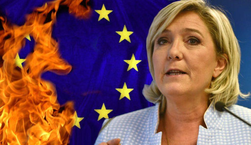 Марин Ле Пен о Европе и Евросоюзе