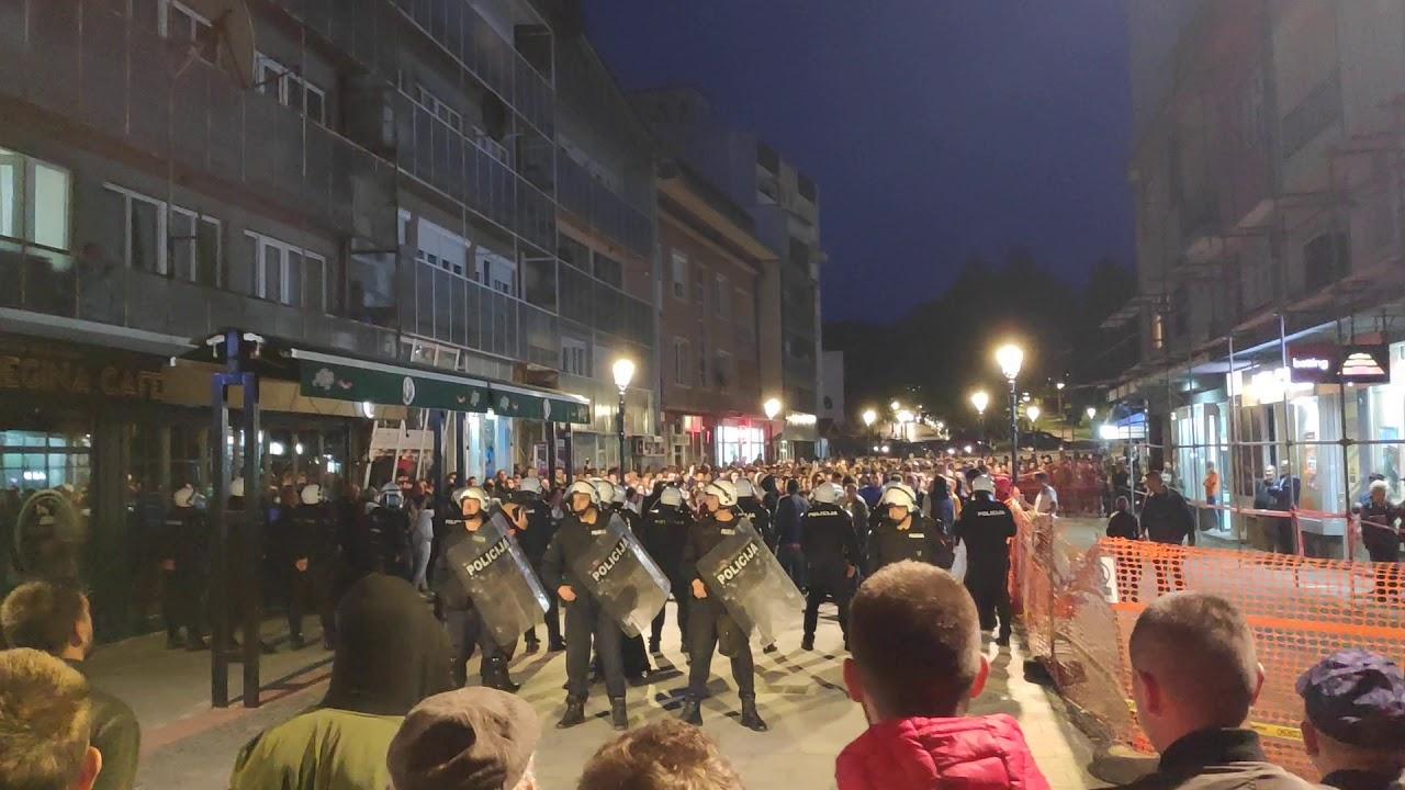 В Черногории протесты против ареста епископа