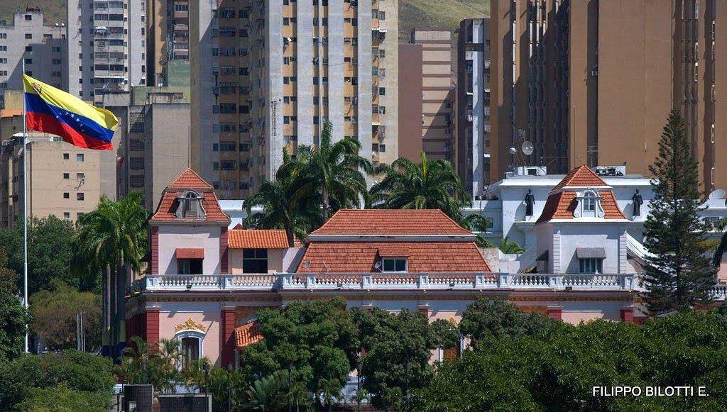 дворец Мирафлорес в Каракасе