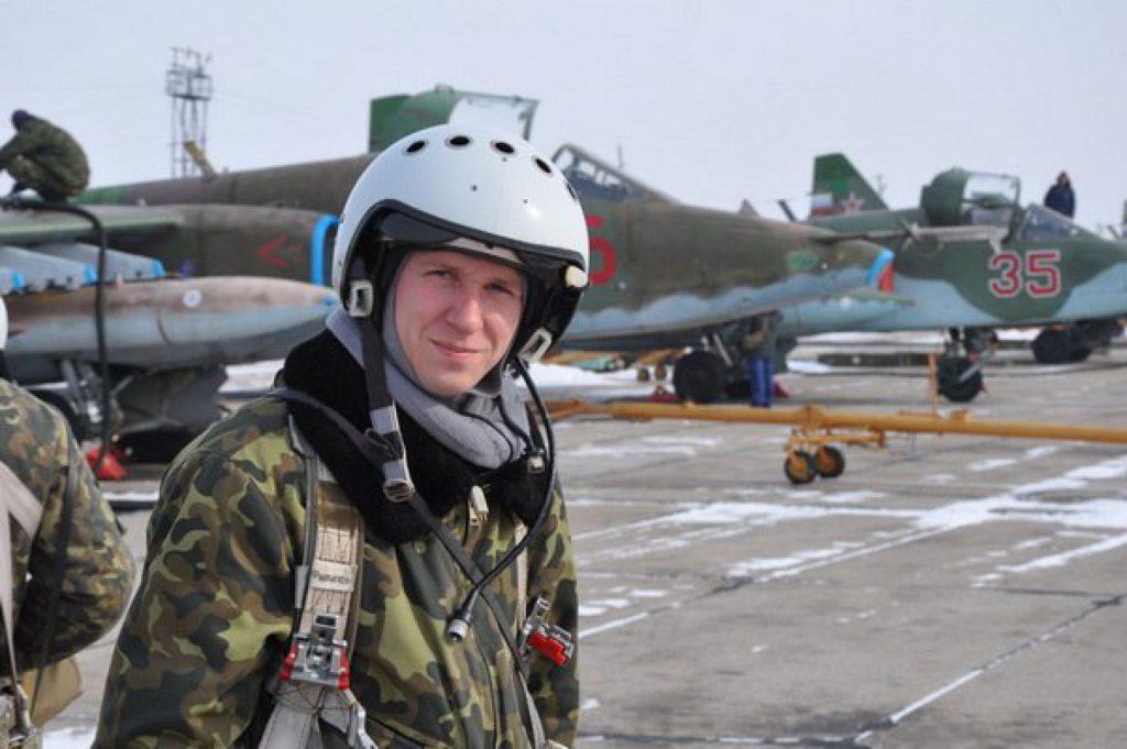 В Сирии установили памятный знак в честь погибшего российского лётчика Романа Филипова