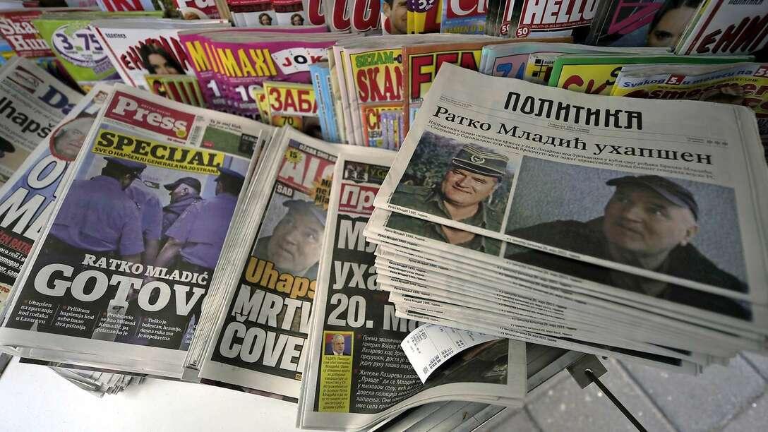сербские газеты и СМИ