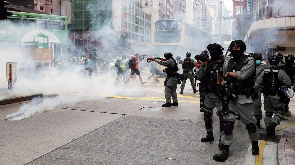 Протесты в Гонконге вспыхнули с новой силой