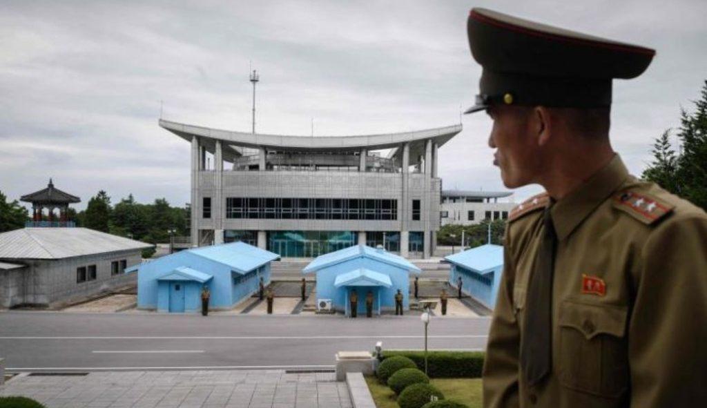 демилитаризованна зона между двумя Кореями