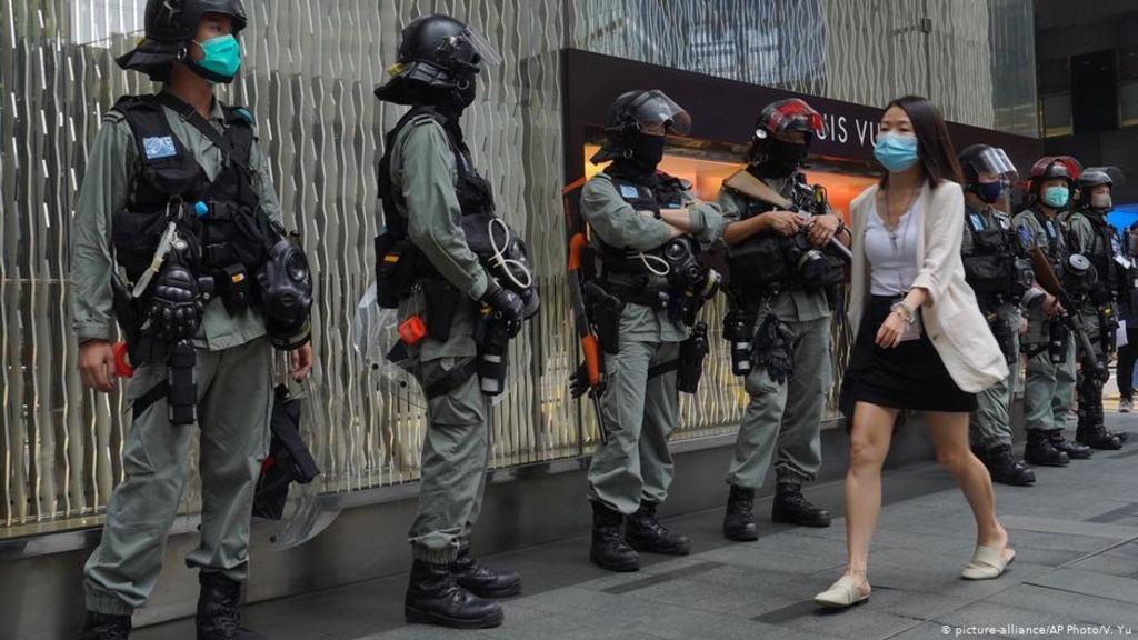 полиция Гонконг