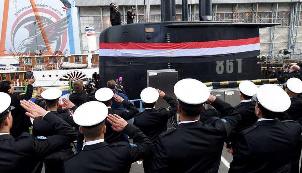 Еипет получил три подводные лодки из Германии