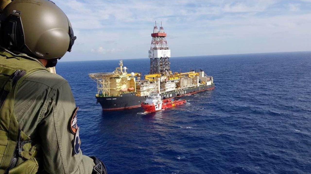 Турция ведет разведку нефти возле греческих островов