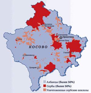 сербы в Косово