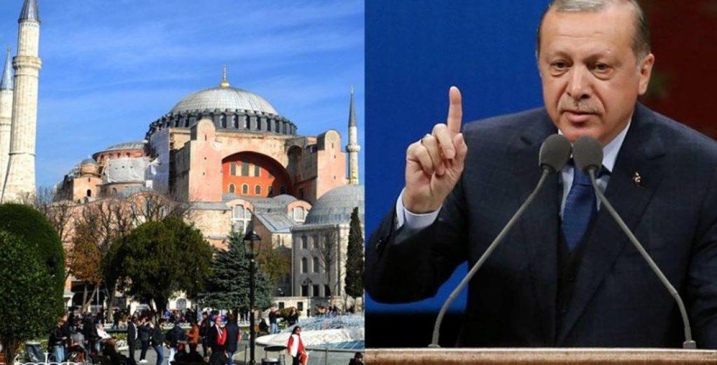 Эрдоган: Только Турция вправе определять статус собора Святой Софии