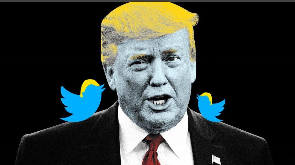 Твиттер блокировал предвыборный ролик Трампа