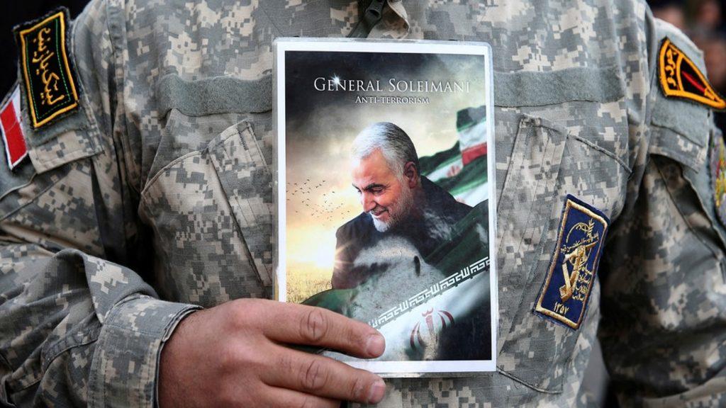 убит генерал Сулеймани