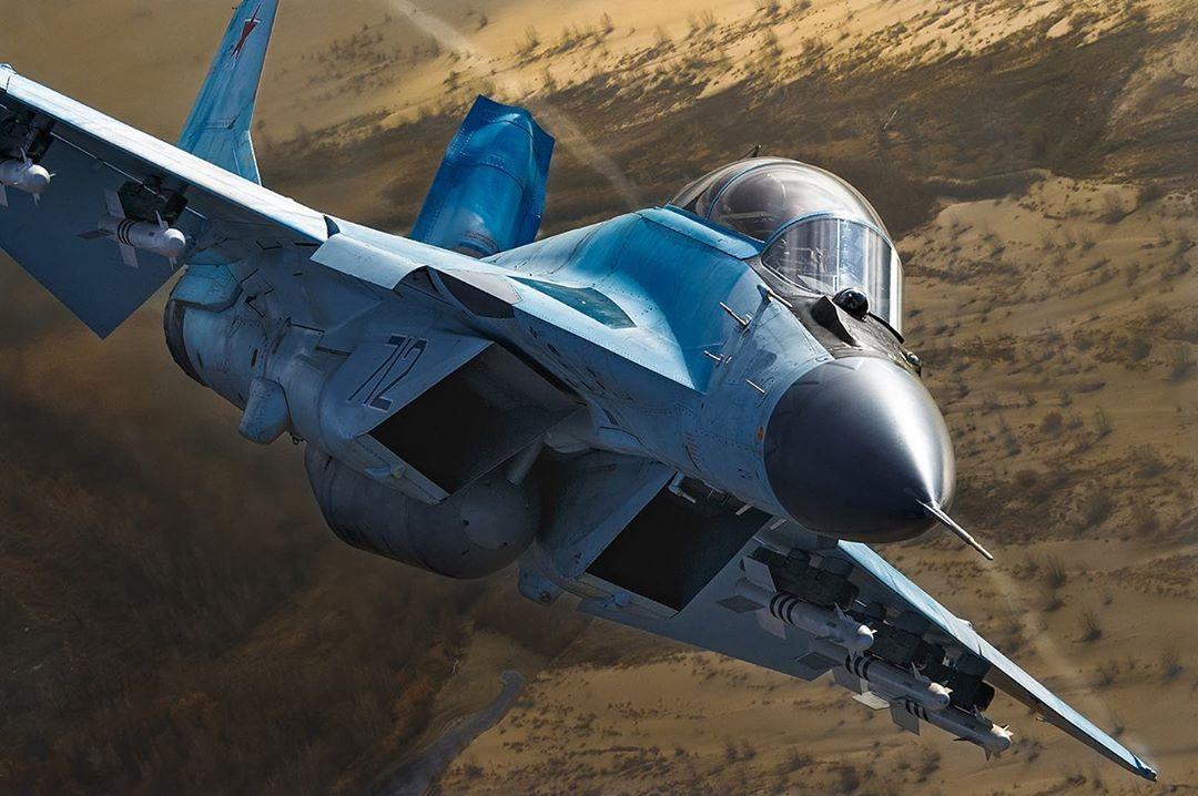 Лётчик об испытаниях истребителя МиГ-35
