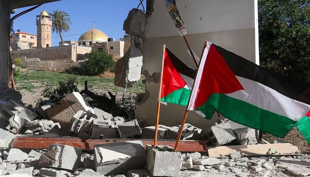 Израиль разрушает палестинские дома на Западном берегу