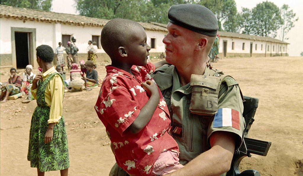 армия Франции в Руанде