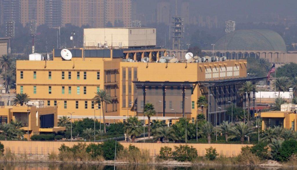 посольство СШВ в Зеленой зоне Багдада