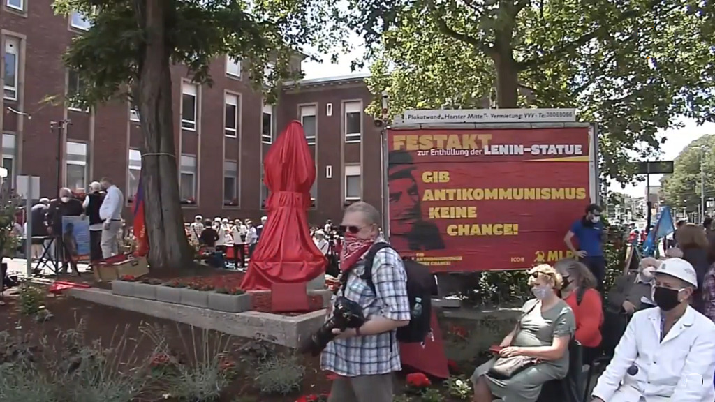 В Западной Германии поставили памятник Ленину