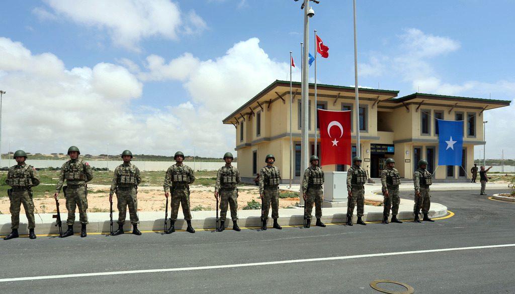 Турецкая военная база в Сомали