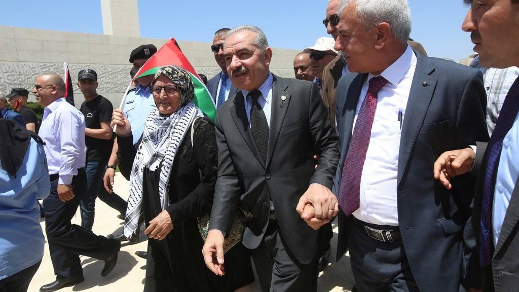 Премьер-министр Палестинской автономии Мохаммед Штайе