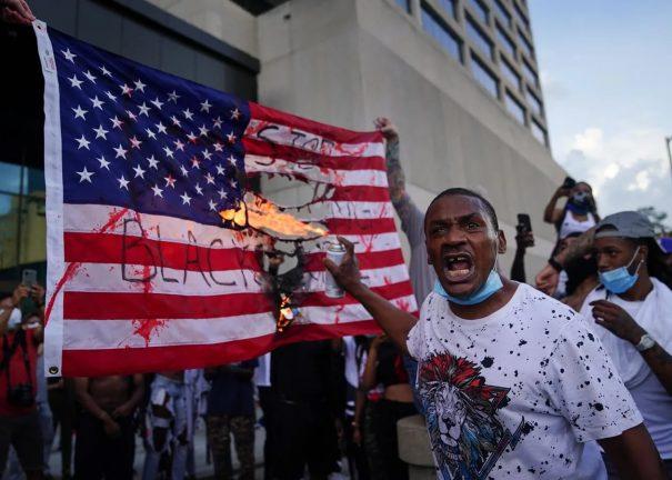 протестные беспорядки в США