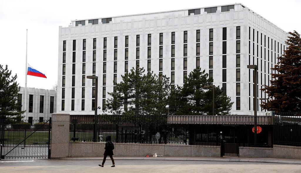 российское посольство в США