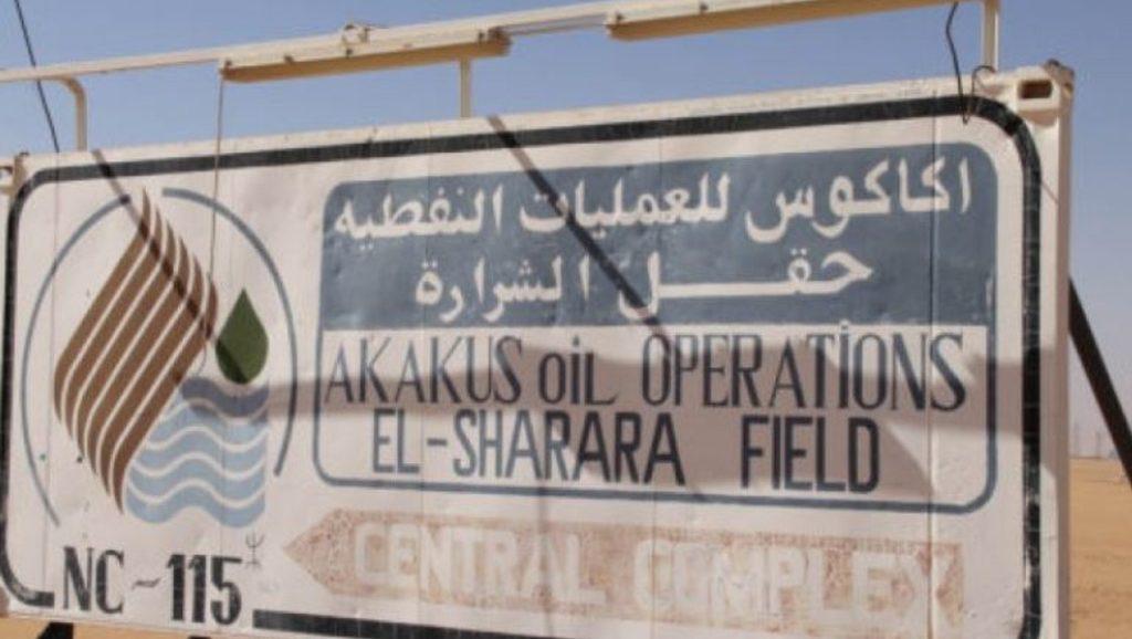 ливийское нефтяное месторождение Шарара