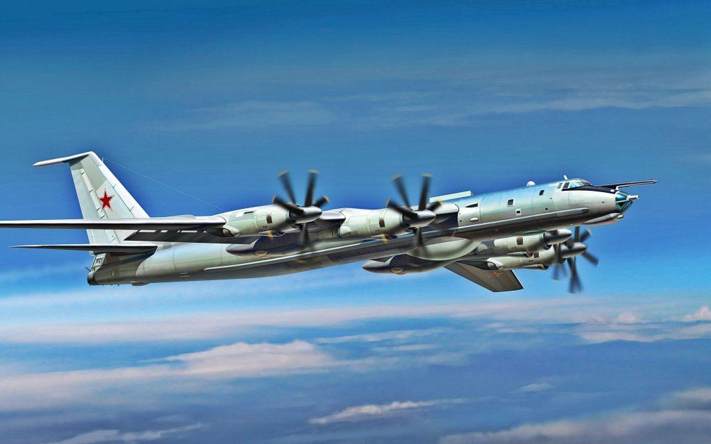 Над Баренцевым и Норвежским морями пролетели самолеты Ту-142МК ВВС России