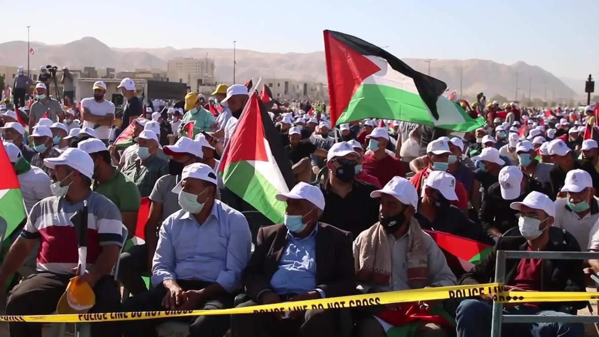 палестинцы против аннексии