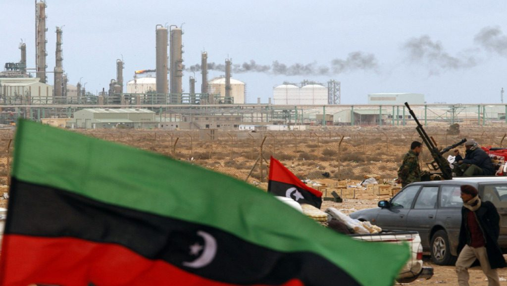 охрана нефтяных предприятий Ливии