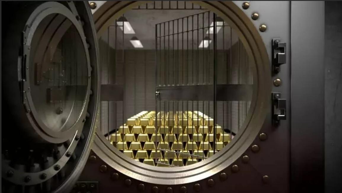 золото в банке