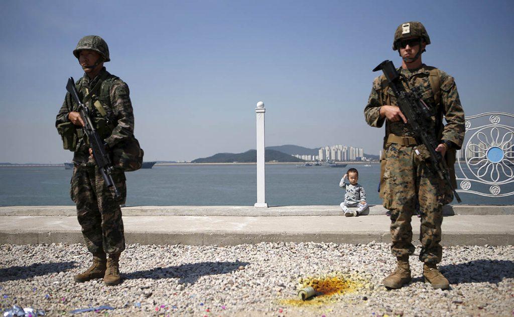 «Горе-защита»: Солдаты ВС США в Южной Корее терроризируют местных жителей